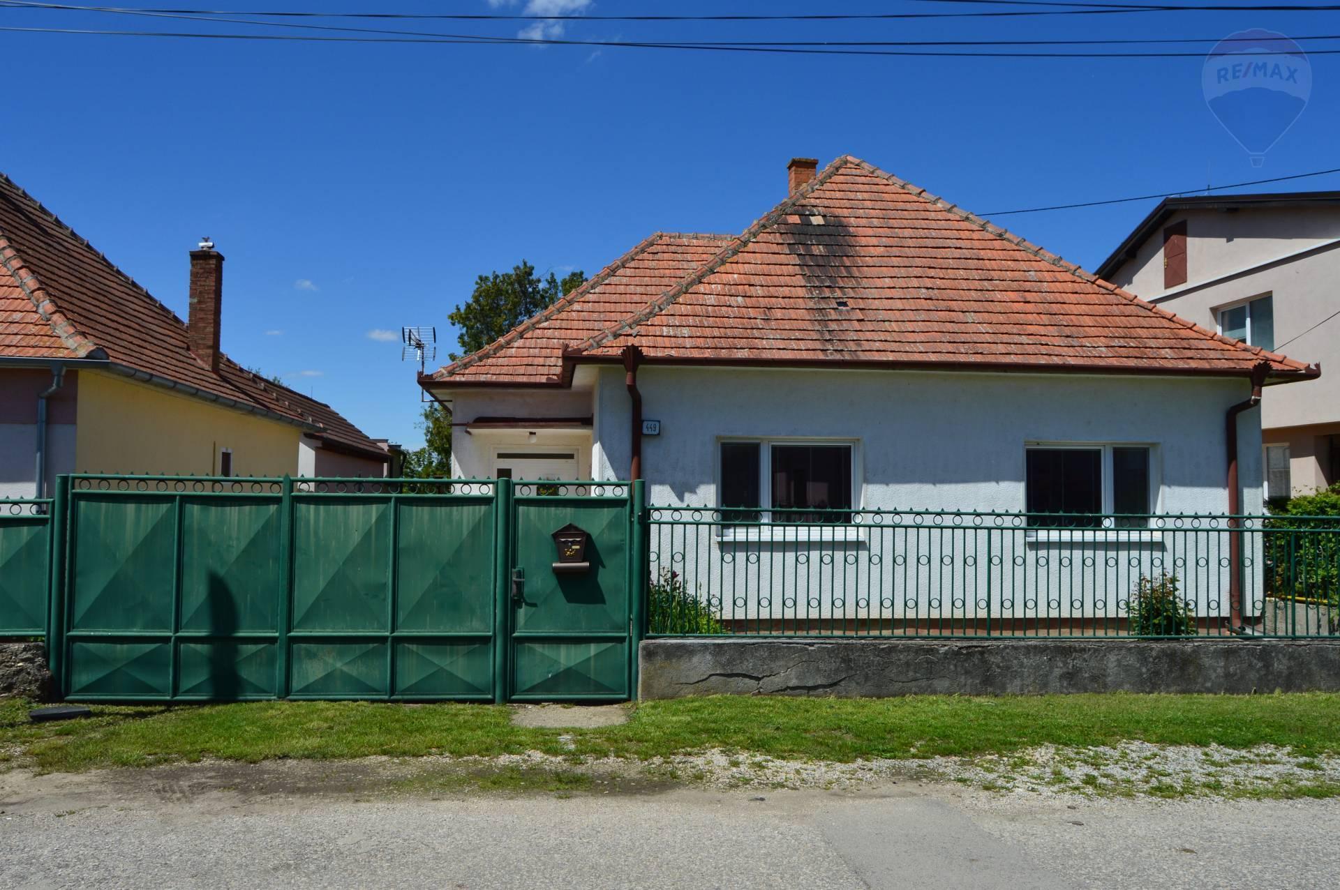 predaj rodinný dom Branč